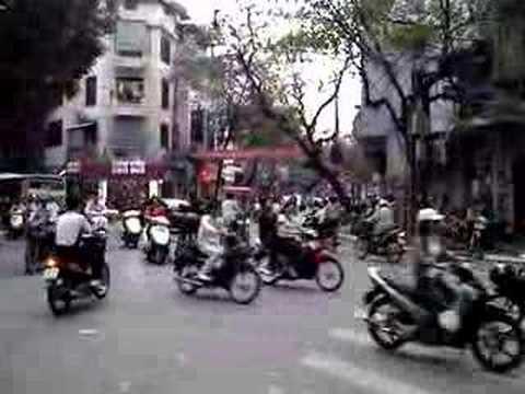 Crazy Traffic in Hanoi, Damn Asian Drivers
