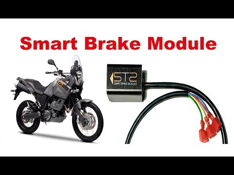 Motorcycle Smart Brake Module. A new way to be more visible!