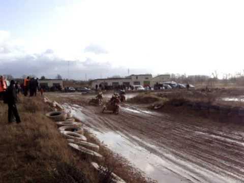 Retro motociklu ralis. Joniškis 2009-11-21