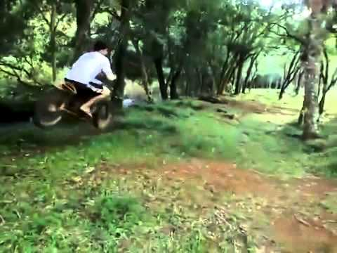 Motorcycle Rope Swing