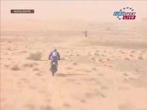Lisboa Dakar Rally 2007 - Motorbikes Stage 07
