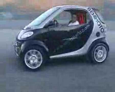 SMART DIABLO - smart-ul care bate un Ferrari