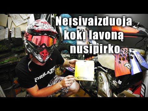 Moto Garažas #1 | Nauja sankaba naujam LAVONUI!
