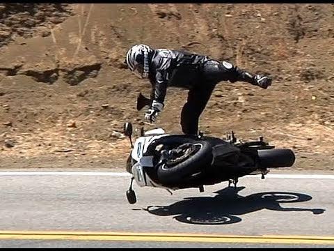 CBR1000 Highside Crash