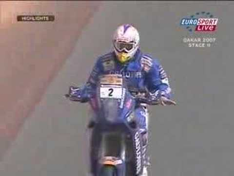 Lisboa Dakar Rally 2007 - Motorbikes Stage 11