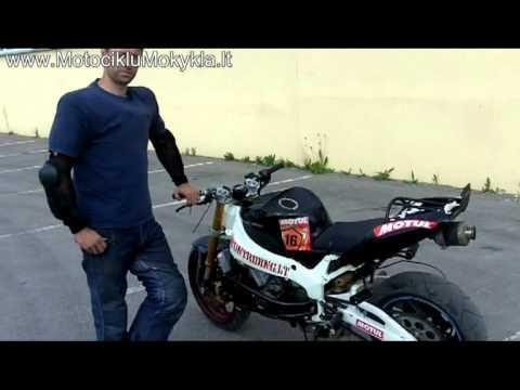 Motociklų dalys ir jų priežiūra. Ką reikia žinoti. Virgis Žukauskas Stunt Rider