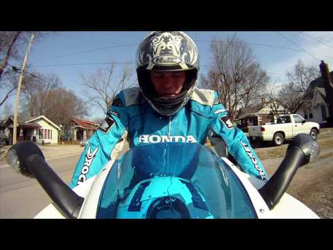 HD Motorcycle Cam test #1 Buell 1125R w/ GoPro