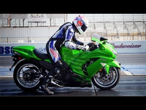 Kawasaki Ninja ZX-14R! The Quest to Break 9 Seconds in the Quarter Mile - On Two Wheels Episode 27