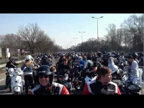 Manifestation motards 24 mars 2012