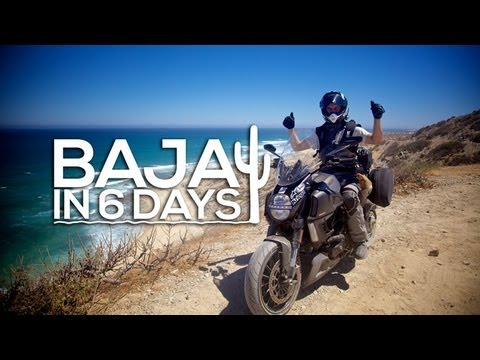 MotoGeo Adventure - Baja in 6 days