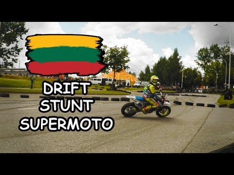 Drift, Supermoto & Stunt in One Place - Lithuanian Supermoto Championship 2nd Stage