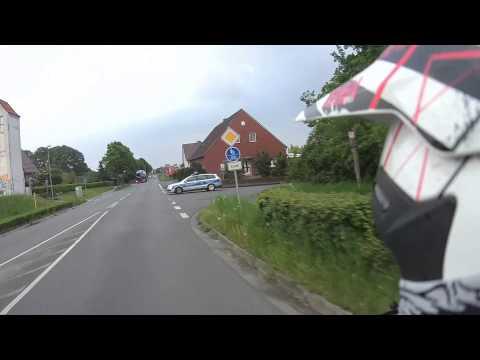 Motorradcrash mit der Polizei | Schmutzfänger
