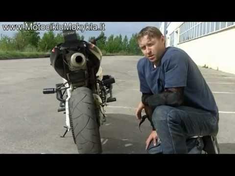 Motociklų Padangos Kaip pasirinkti - Motociklu Mokykla Virgis Žukauskas Stunt Rider