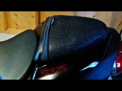"""TriboSeat"" Anti-Slip Motorcycle Seat"