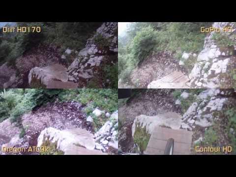 Comparaison GoPro HD vs Drift HD170 vs ContourHD vs ATC9k