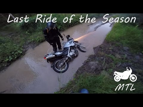 Last ride of the year / Africa twin / BMW GS 650F