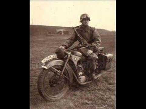Wehrmacht Soldiers and Motorcycles - Soldaten und Motorräder