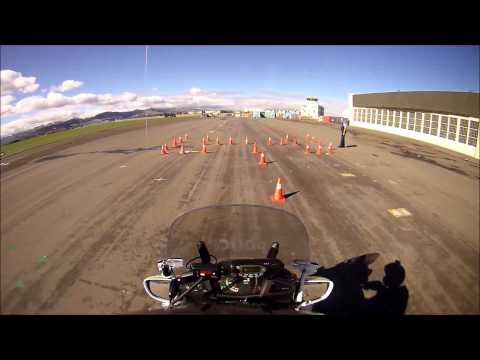 Police Motorcycle Training incl POV.