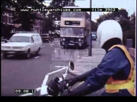 Motorcycling, 1980's - Film 3903