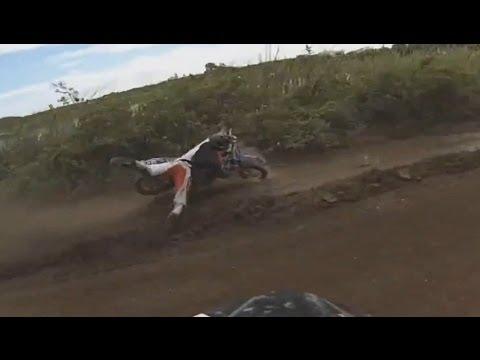 EPIC Dirt Bike CRASH - TJ Rand Miami MX GoPro