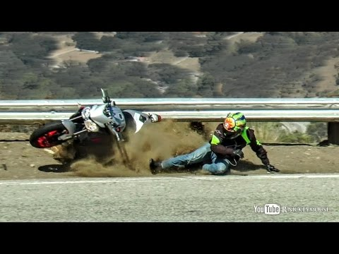 New Triumph RX 675 Crash