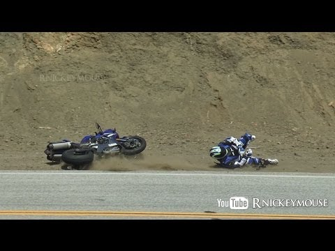 The Mulholland Snake - Yamaha R1 Crash #82