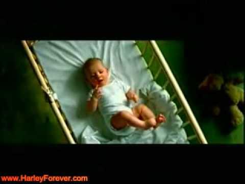 Funny Harley Davidson Baby Commercial  BONUS