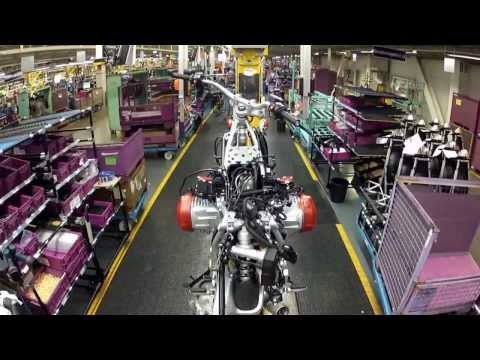 BMW Motorcycle Assembly - Berlin Plant