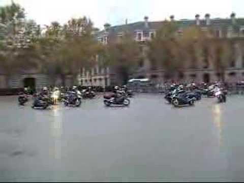 Group of Yamaha FJR