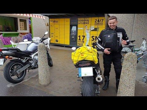 Kelione i Lenkijos parduotuves Kaufland su motociklais