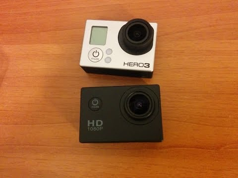 SJ4000 VS GoPro Hero 3 BE (Full HD)