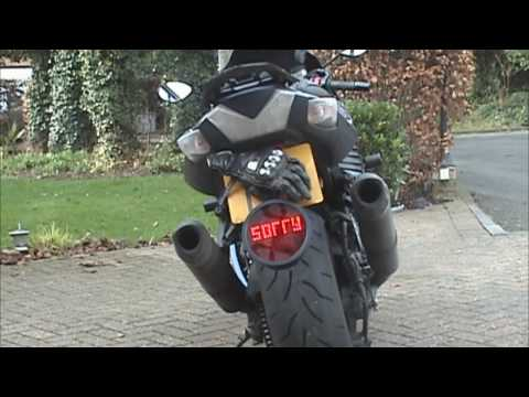 Motorcycle Mod: LED Sign