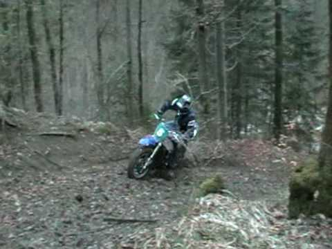 Yamaha R1 offroad