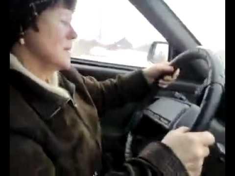 Бабуля за рулем ПОЛНЫЙ РЖАЧ!!!!!! г. Рыбинск