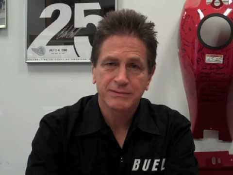 Messaggio di Erik Buell che annucia la vendita del marchio