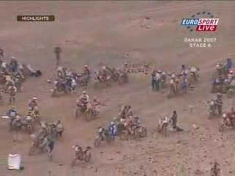 Lisboa Dakar Rally 2007 - Motorbikes Stage 06