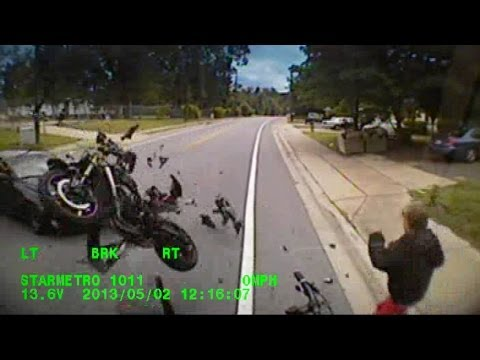 SHOCKING VIDEO: Jack Nicklaus' Grandson Nick O'Leary Survives Scary Motorcycle Crash