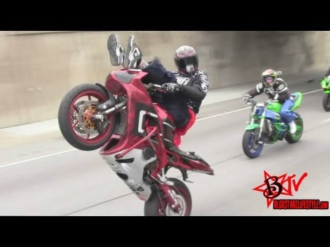 Ride Of The Century 2011 Streetfighterz ROC - Motorcycle Stunts - Street Bike Stunts - Blox Starz TV