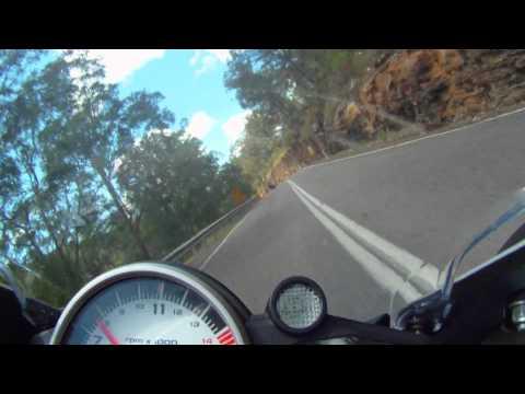 BMW S1000RR chasing R1 Yamaha