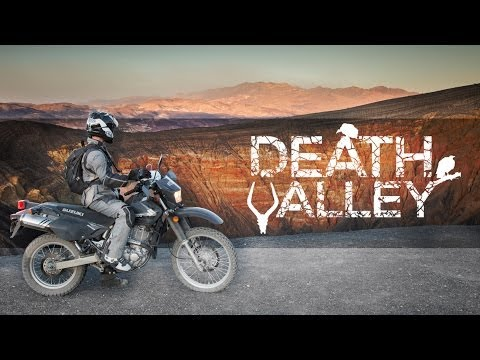 Death Valley - Suzuki DR650SE - MotoGeo Adventure