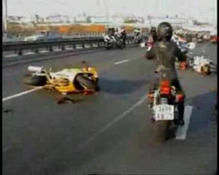Crash moto Moscow