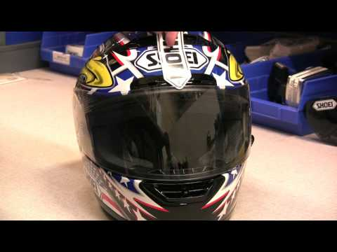 Shoei Helmets: Tech Tips Series—Shield Maintenance & Adjustment