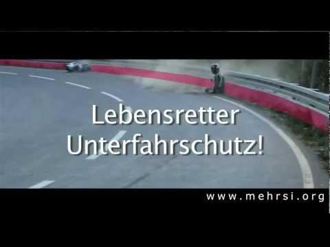 Motorradunfall - Lebensretter Unterfahrschutz
