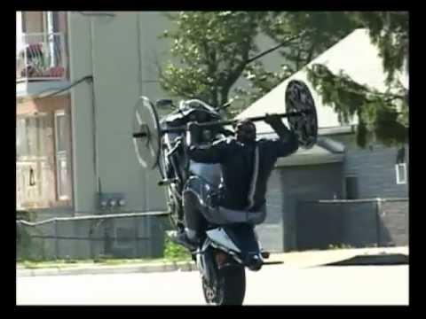 Bench Press Wheelie CBR 954RR