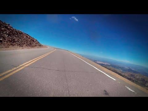 Kawasaki Ninja ZX-10R vs Pikes Peak - Jeremy Toye's POV Run