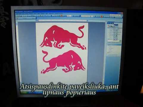 Lipduku gamyba / How to make stickers