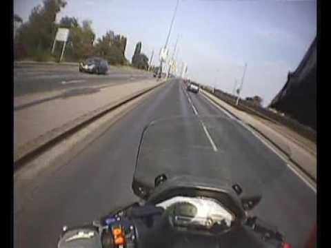 MR - Suzuki Burgman 650 Executive - Onboard Topspeed 187/kmh