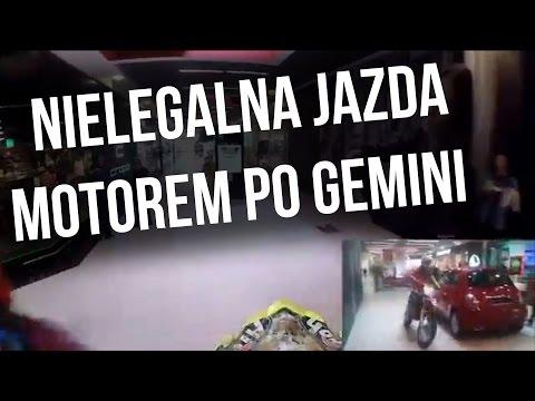 Nielegalna jazda motorem po Gemini - Magazyn Miejski 12.03.2015 - imav.tv
