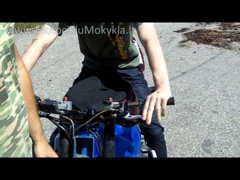 Kaip Pradeti Vaziuoti Motociklu Pirma Karta - Pirma Dalis