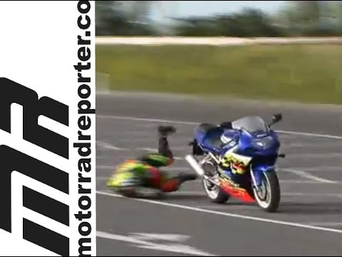 MR - Hard Bike Crash - SUZUKI GSXR 600